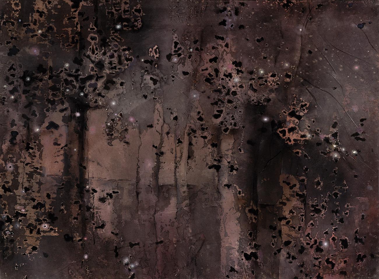 Night Coppice  1999, 173 x 229 cm