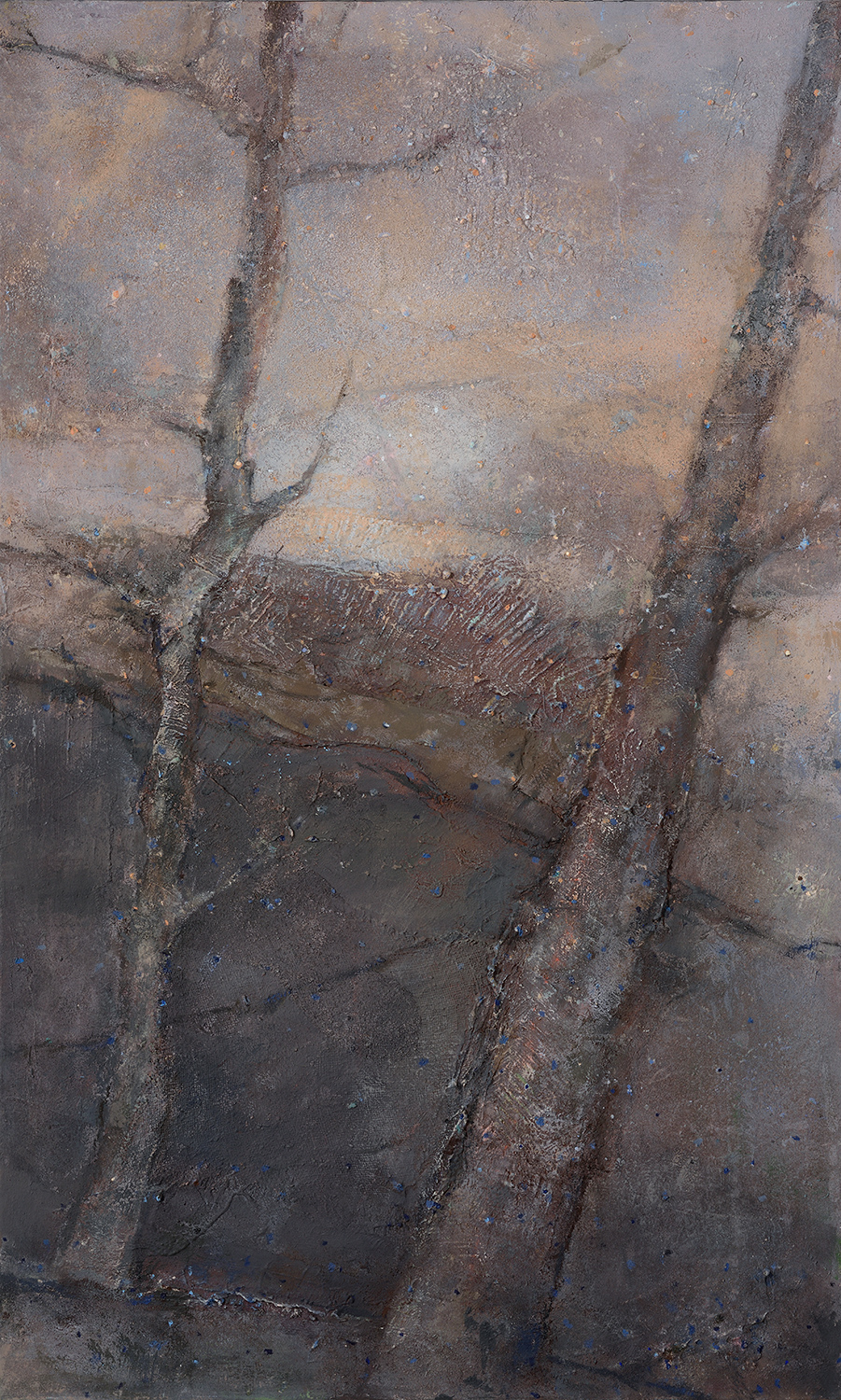 November Frost And Mist  1998-2013, 142 x 86 cm
