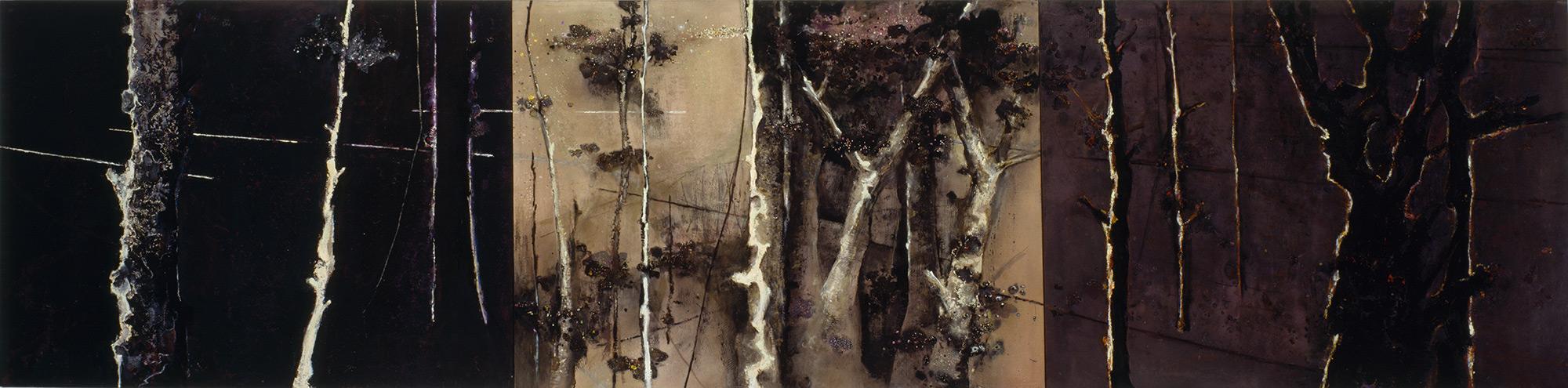 Lyminge Forest III  1983-1999, 168 x 685 cm