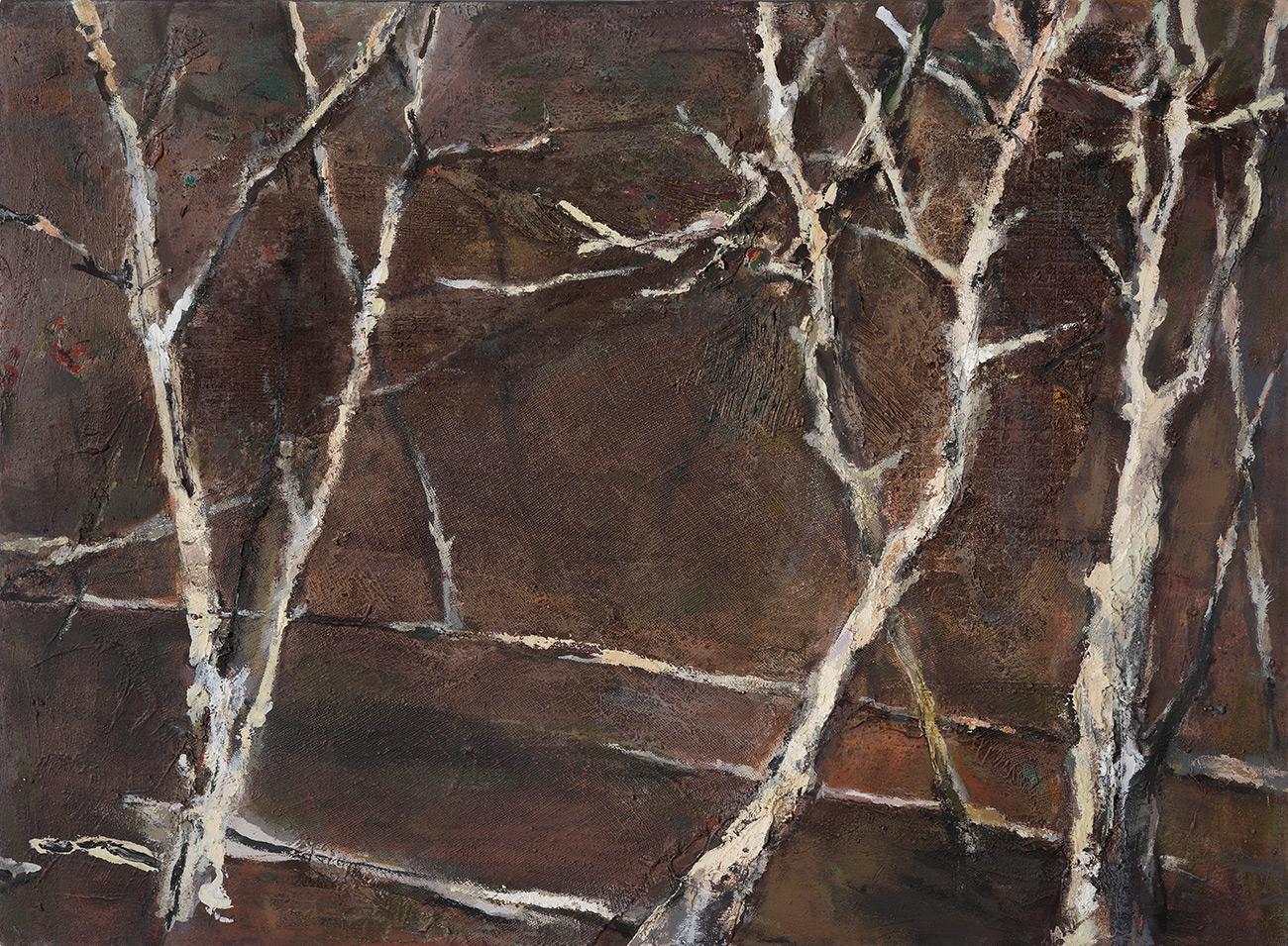 Night Drive Treescape  1998-2012, 91 x 127 cm