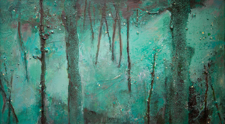 Woodlands I  2008-10, 33 x 58 cm
