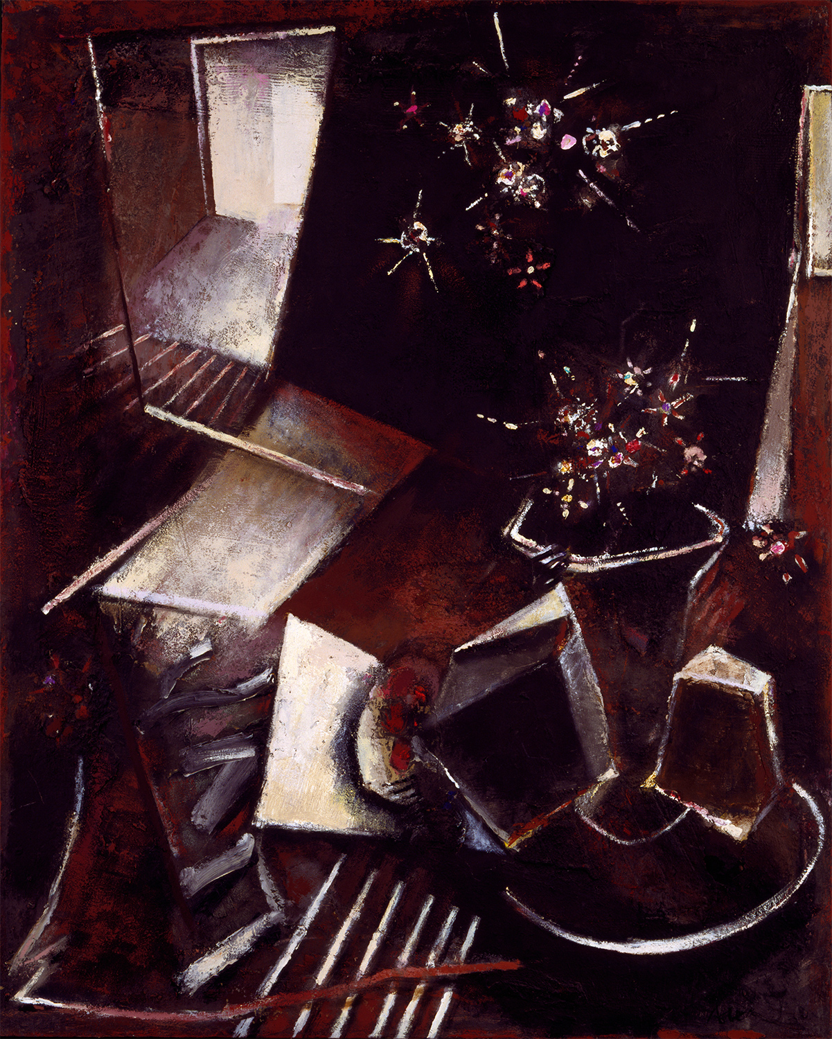 Night Flowers  1985-1993, 153 x 122 cm