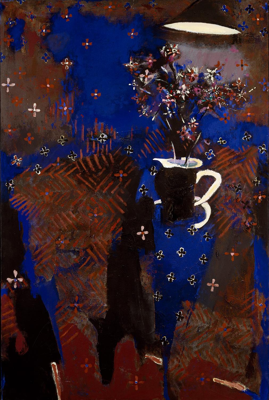 Blue Night Flower Piece 1985-1995, 183 x 175 cm