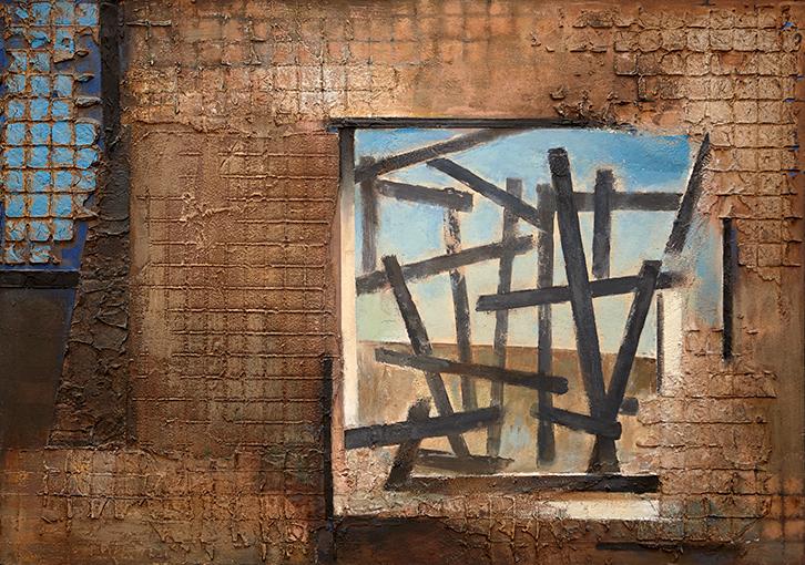 Opening  1995-97, 61 x 86 cm