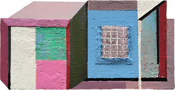 False Interior  2005, 18 x 35 cm