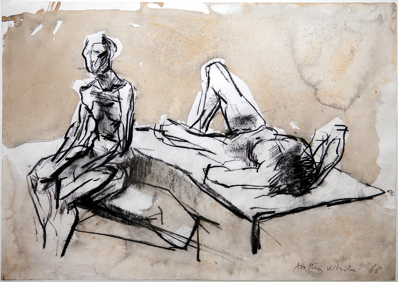 Dancing Figure  1965, 25.5 x 17 cm
