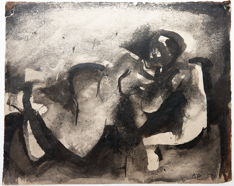 Reclining Woman  1959, 29 x 23.5 cm