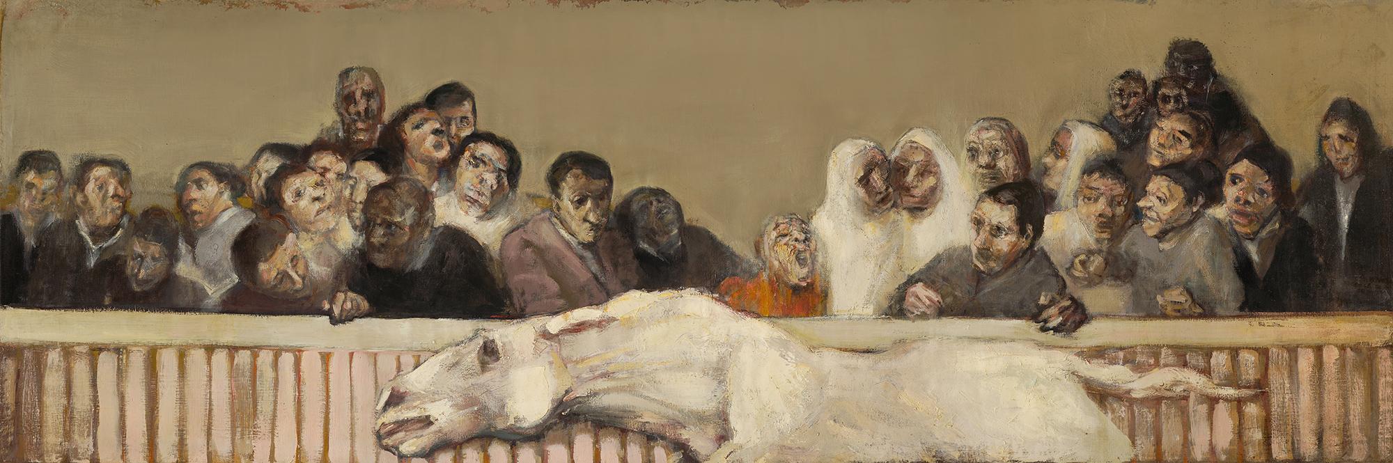 Corrida  1955-6, 100 x 300 cm, oil on canvas (Tate Britain)