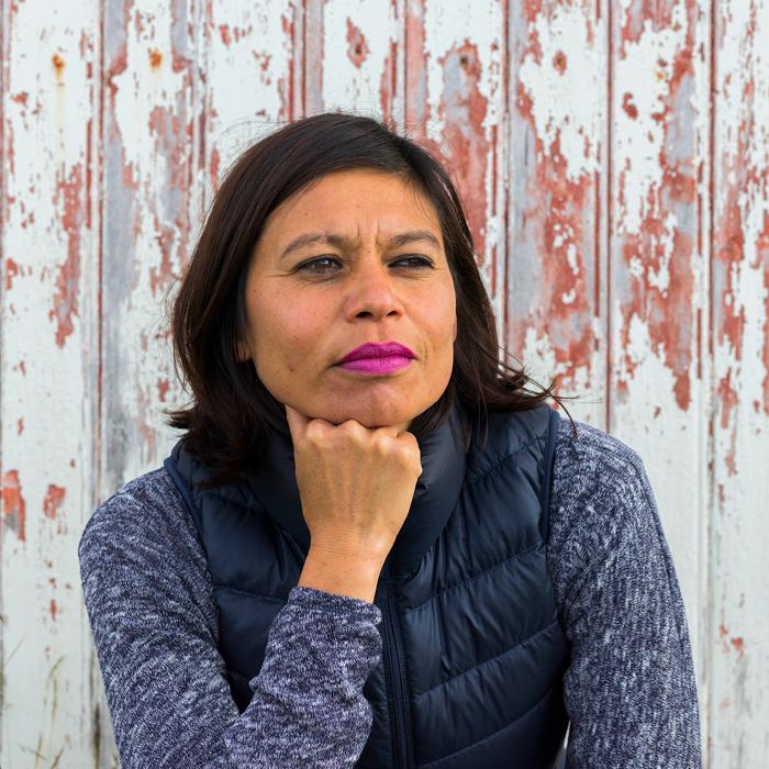 Portrait of Lilibeth Cuenca Rasmussen. Photography by Bjarte Björkum. Courtesy of the artist.