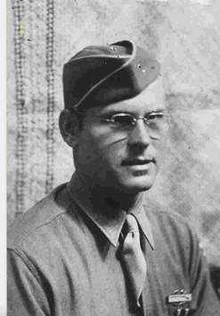 Perry before leaving for WWII.