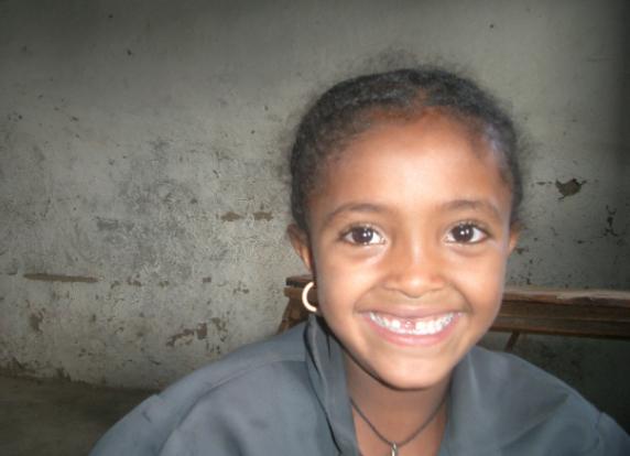 Fasika, Grade 3 Student at Gendit Primary School