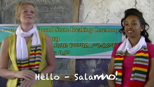 Throwback to the 'Breaking of the Stone' ceremony for our school in February. https://www.youtube.com/watch?v=CsZpRJQ_Dl8 Do you know anyone who could help us to reach our target? #charity #ethiopia #education #school #buildingfuturesethiopia