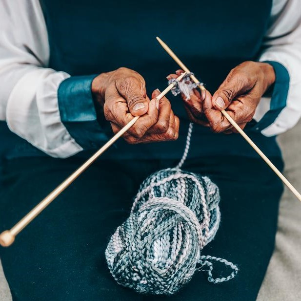 Knit & Chat - Monthly free knitting group led by Andrea of the Dulwich WI. Monthly 10.30-12, lunch after.