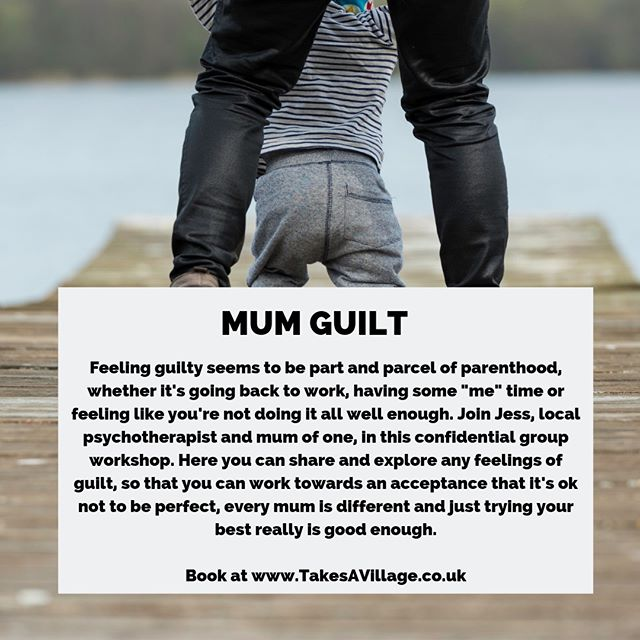 Whether it's feeding, weaning or going back to work, so many phases of early parenting can leave mums conflicted and feeling guilty. Come chat to Jess about mum guilt and the impact it's having for you, share your experience with other mums and know that you are NOT ALONE. ⠀⠀⠀⠀⠀⠀⠀⠀⠀ ⠀⠀⠀⠀⠀⠀⠀⠀⠀ Weds 31st July at 11am / £15 per mum / Book via our website.⠀⠀⠀⠀⠀⠀⠀⠀⠀ ⠀⠀⠀⠀⠀⠀⠀⠀⠀ #mumguilt #mum #motherhood #support #community #yourenotalone #inittogether #groupsessions #goodtotalk #takesavillage #takesavillagetoraiseachild