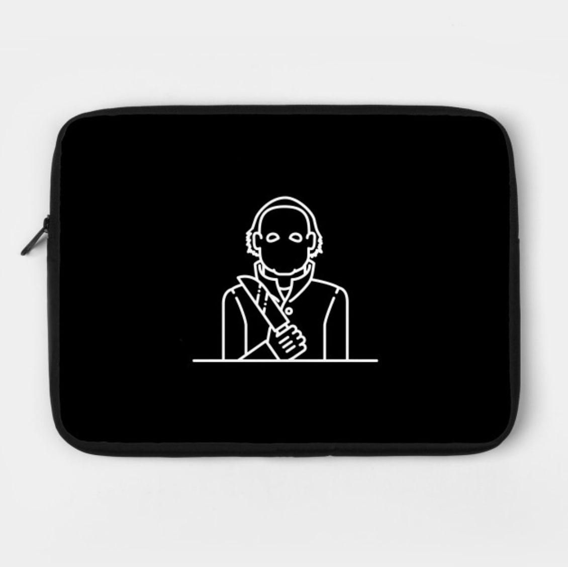 Michael Myers Laptop Case