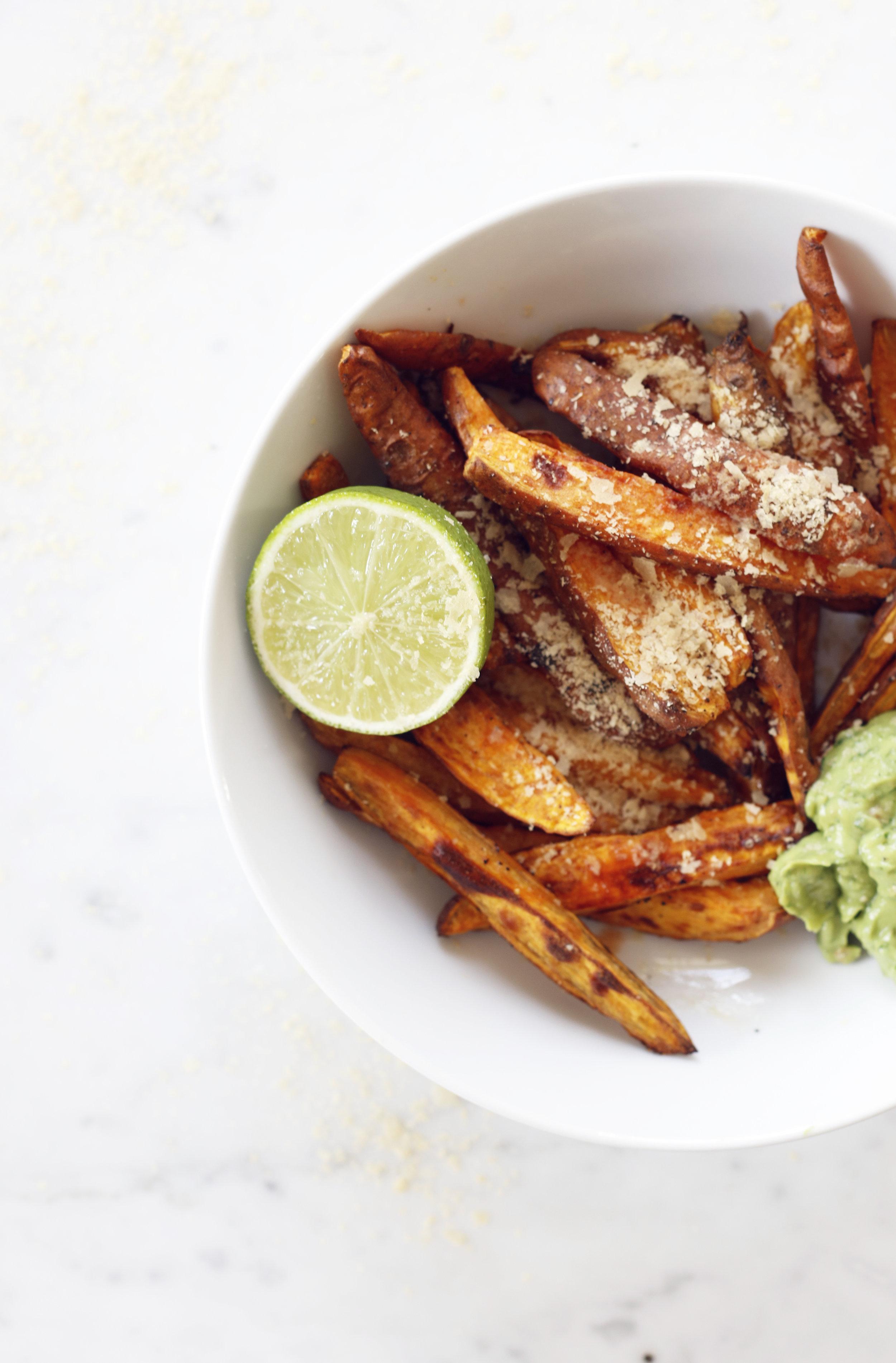 sweet potato fries Food Bandits