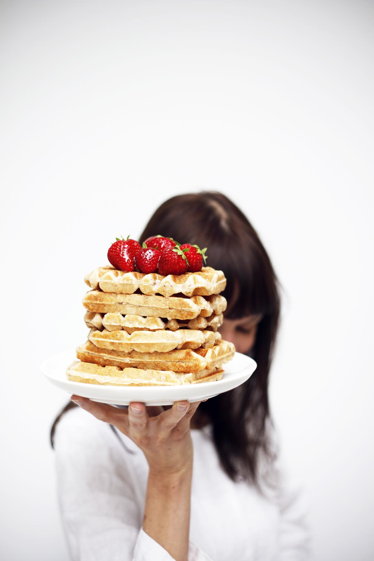 vegan and gf waffles food bandits