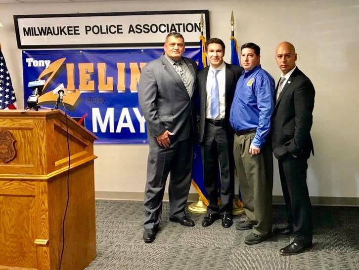 Tony with the Milwaukee Police Association