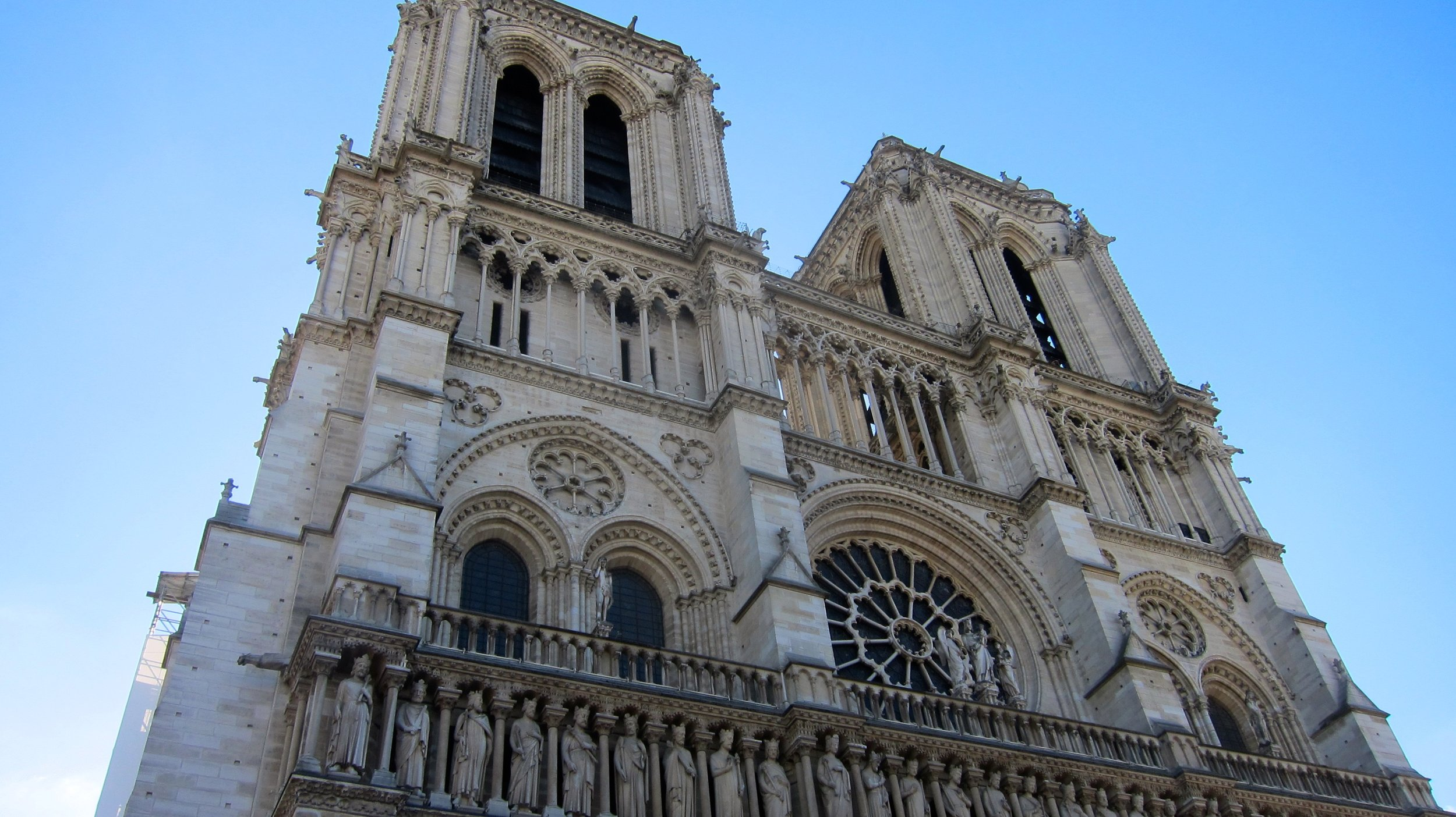 Notre Dame Cathedral is always captivating.