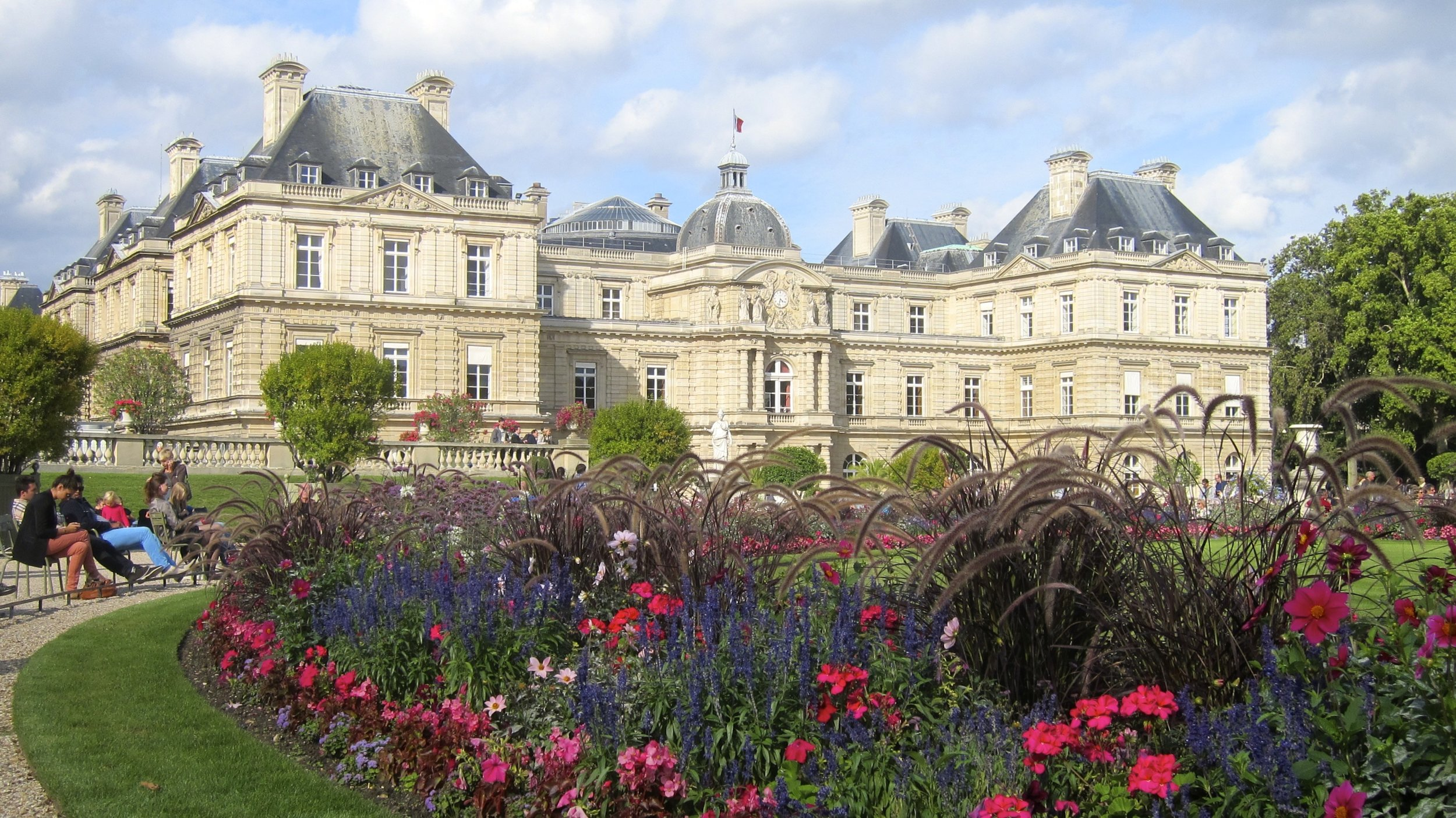 Luxembourg Gardens - a peaceful and beautiful oasis in Paris.