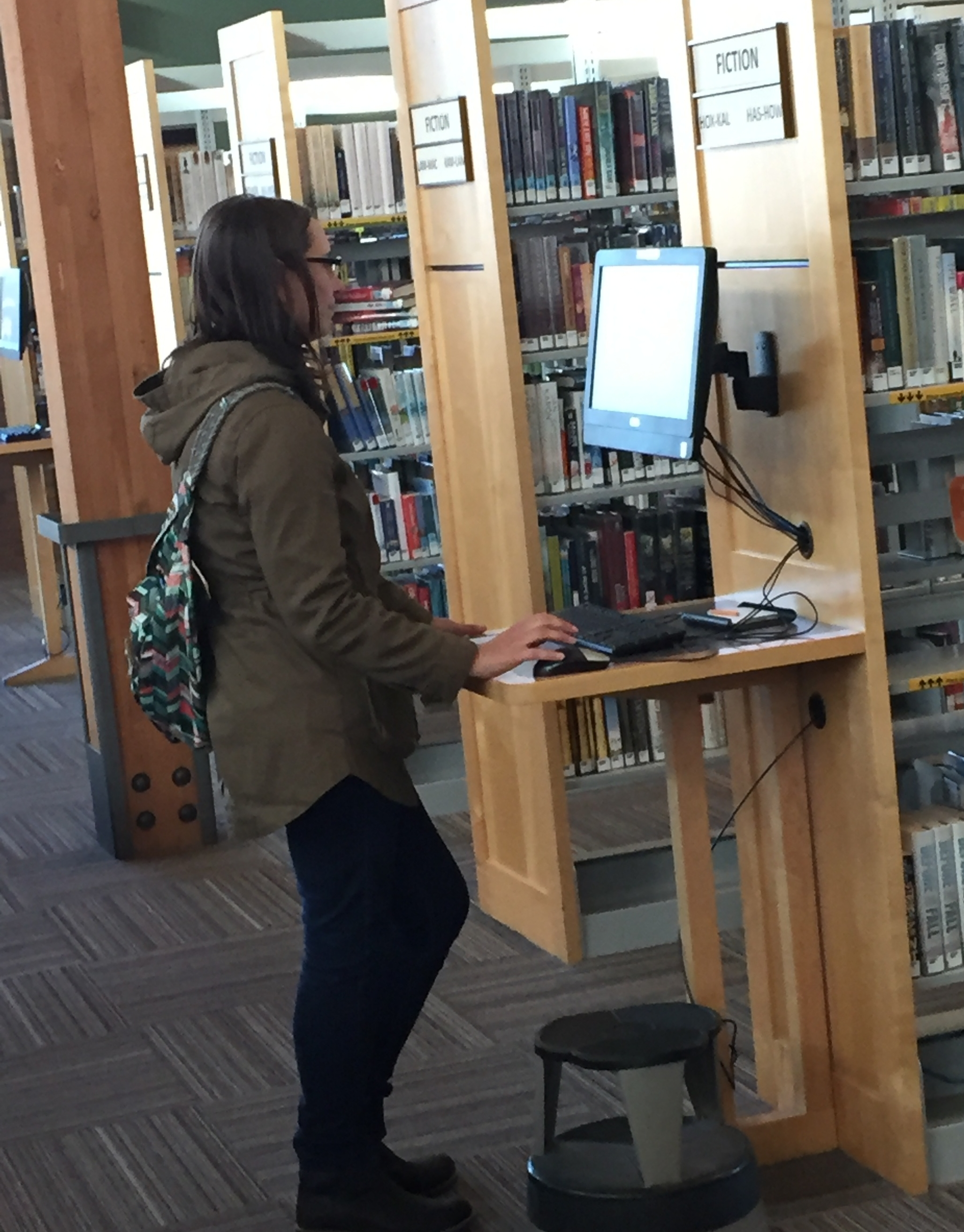 My local library has been an amazing resource for books so far. This is me scouring the online catalog to find books by a Spanish author. With no luck.