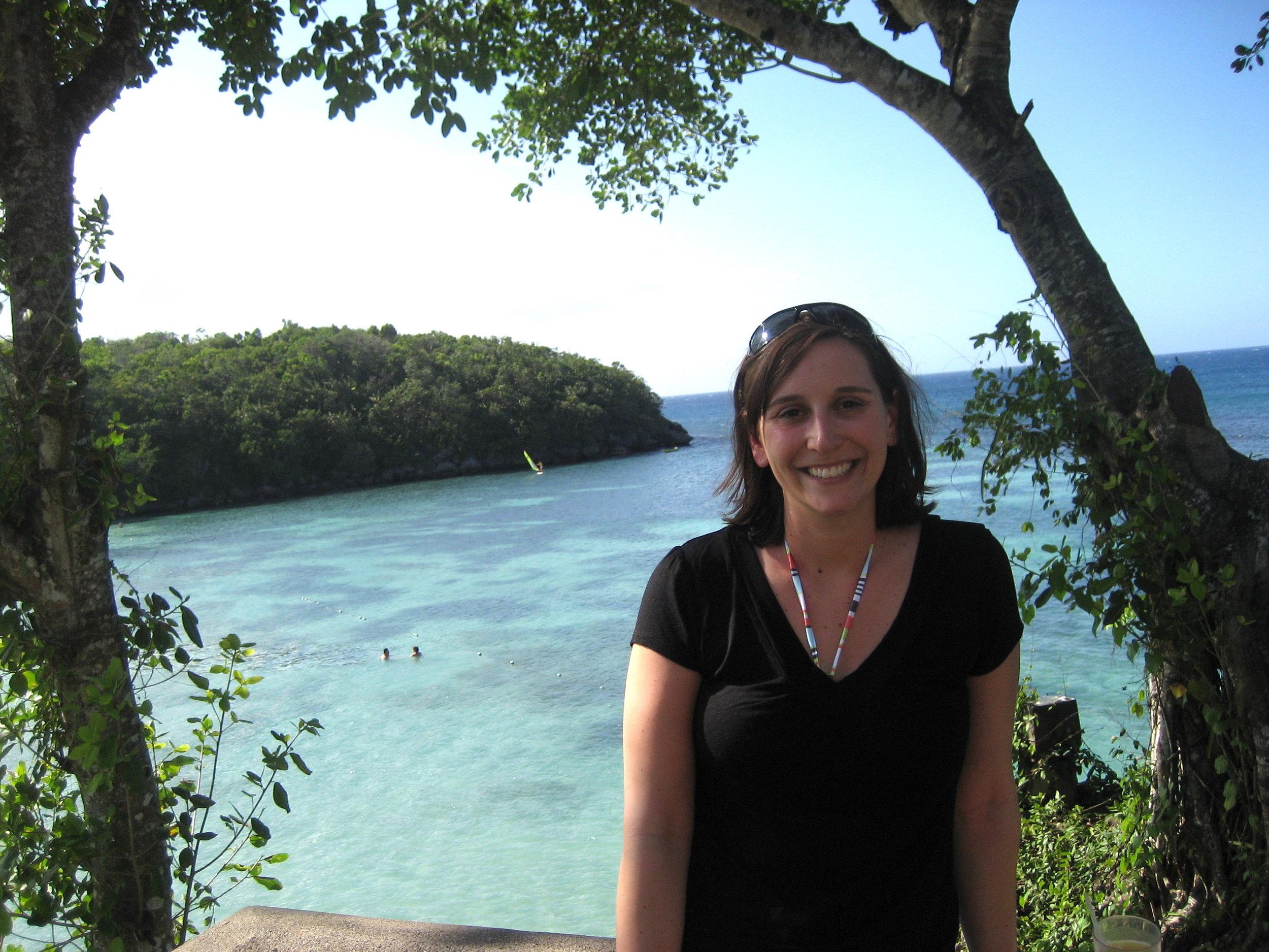 Seaside in Jamaica in 2008