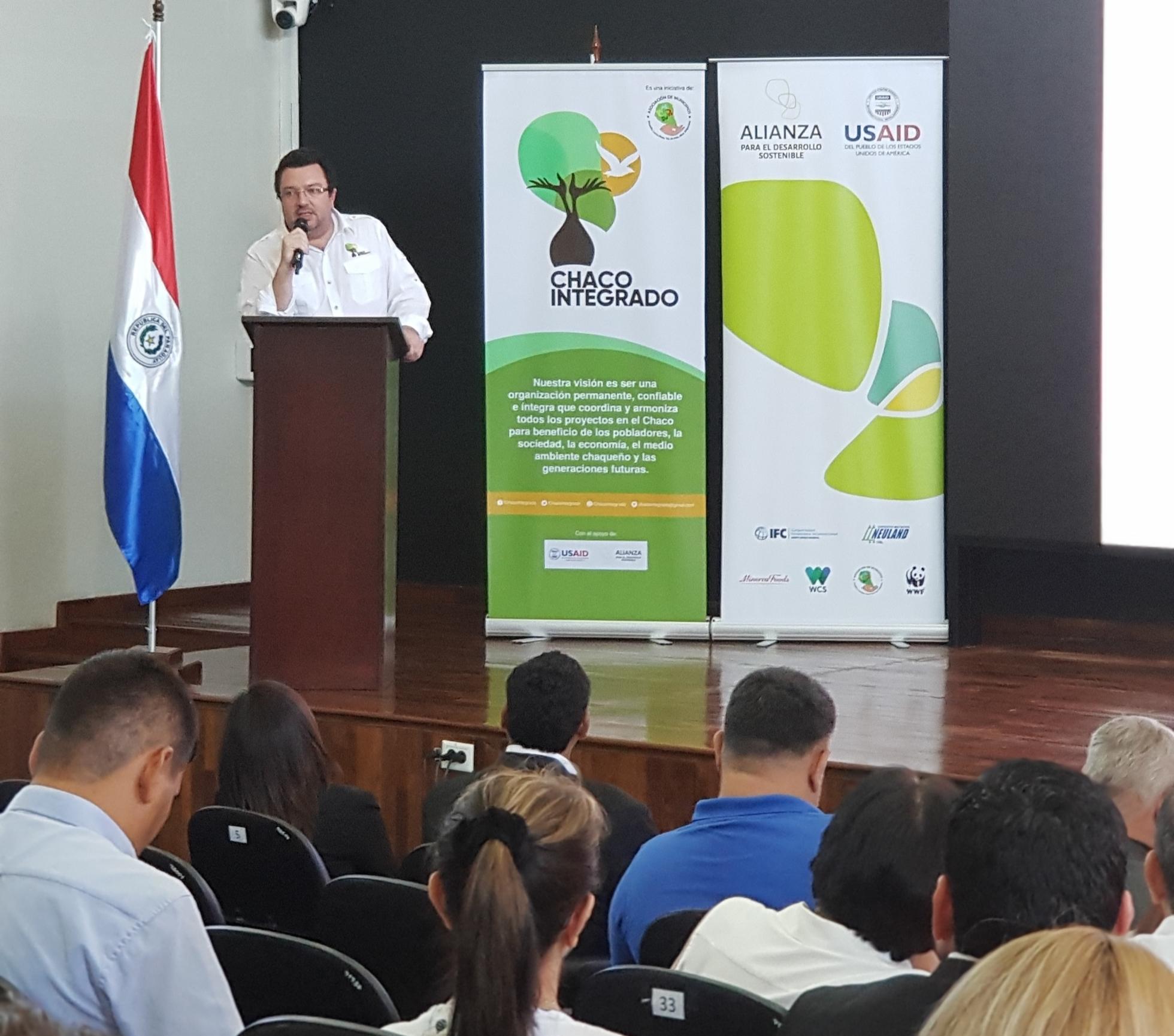 Presentación en Asunción de la Memoria de Chaco Integrado.