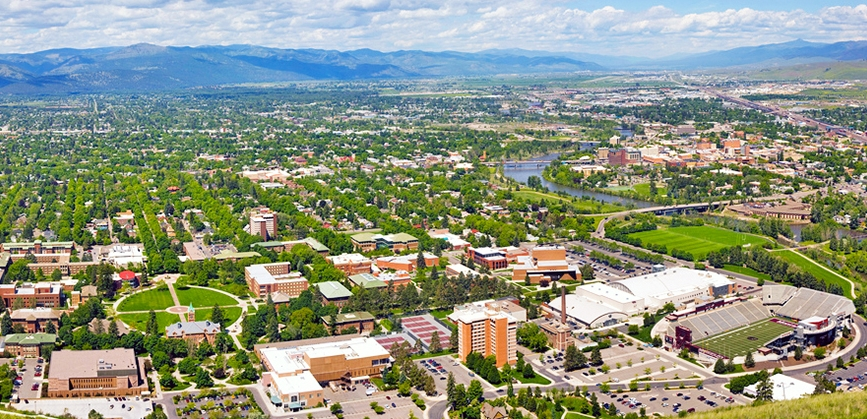 The University of Montana - Missoula, Montana