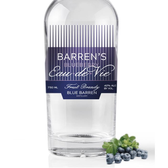 Barren's Blueberry Eau de Vie