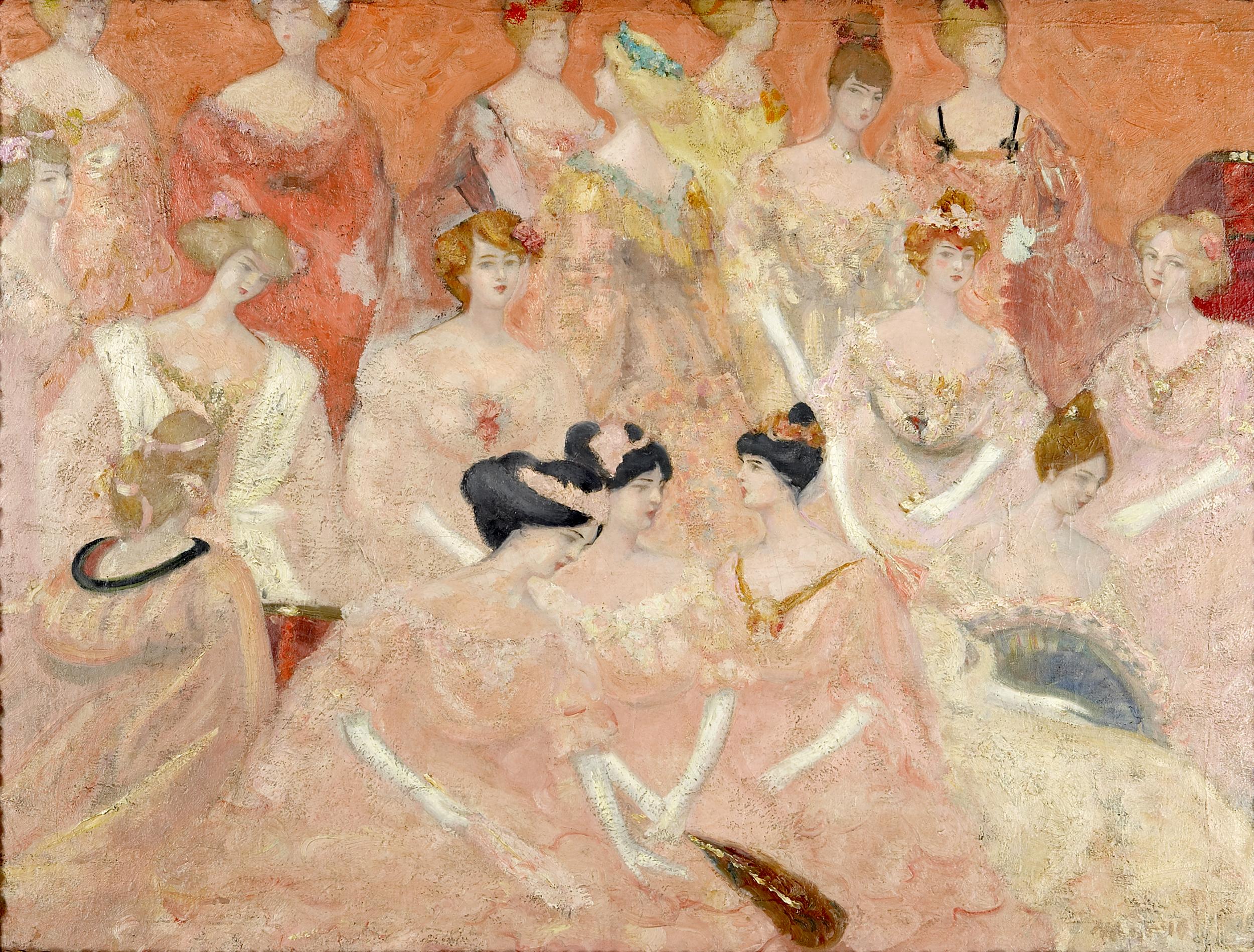 La Duchesse de Montbazon, Jacqueline Marval, 1904