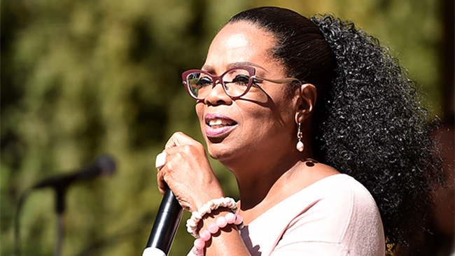 Oprah Winfrey on Oct. 15, 2017. (Alberto E. Rodriguez / Getty Images)