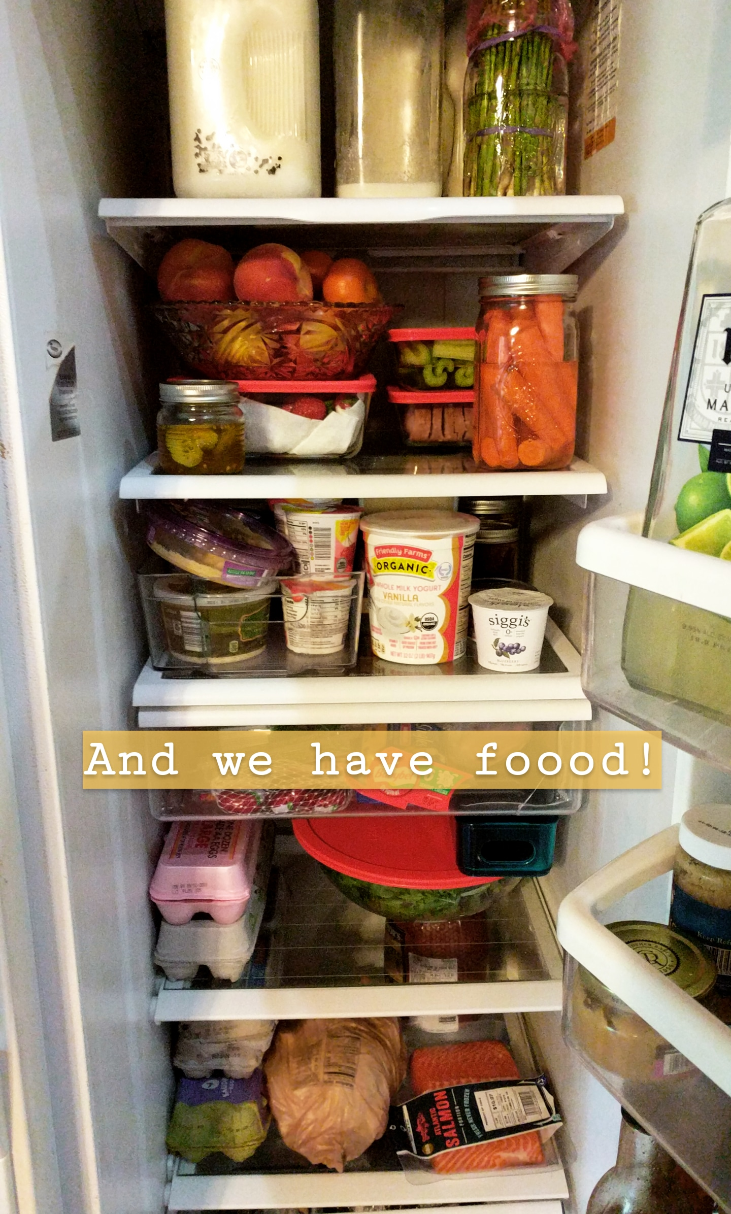 keeping the fridge tidy, blog post, bare roots living health and wellness blog
