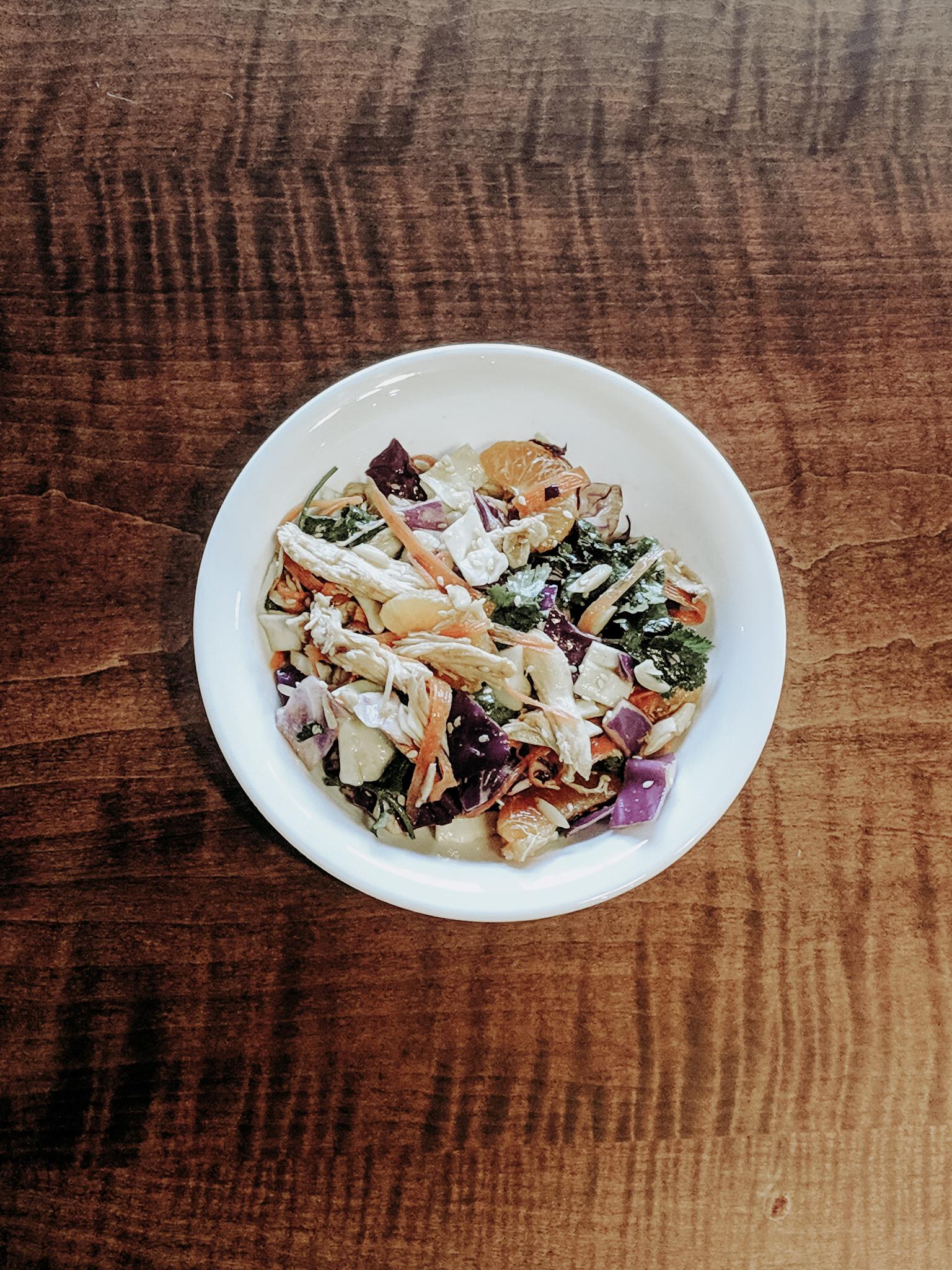Mandarin Orange Sesame Chicken Salad Recipe