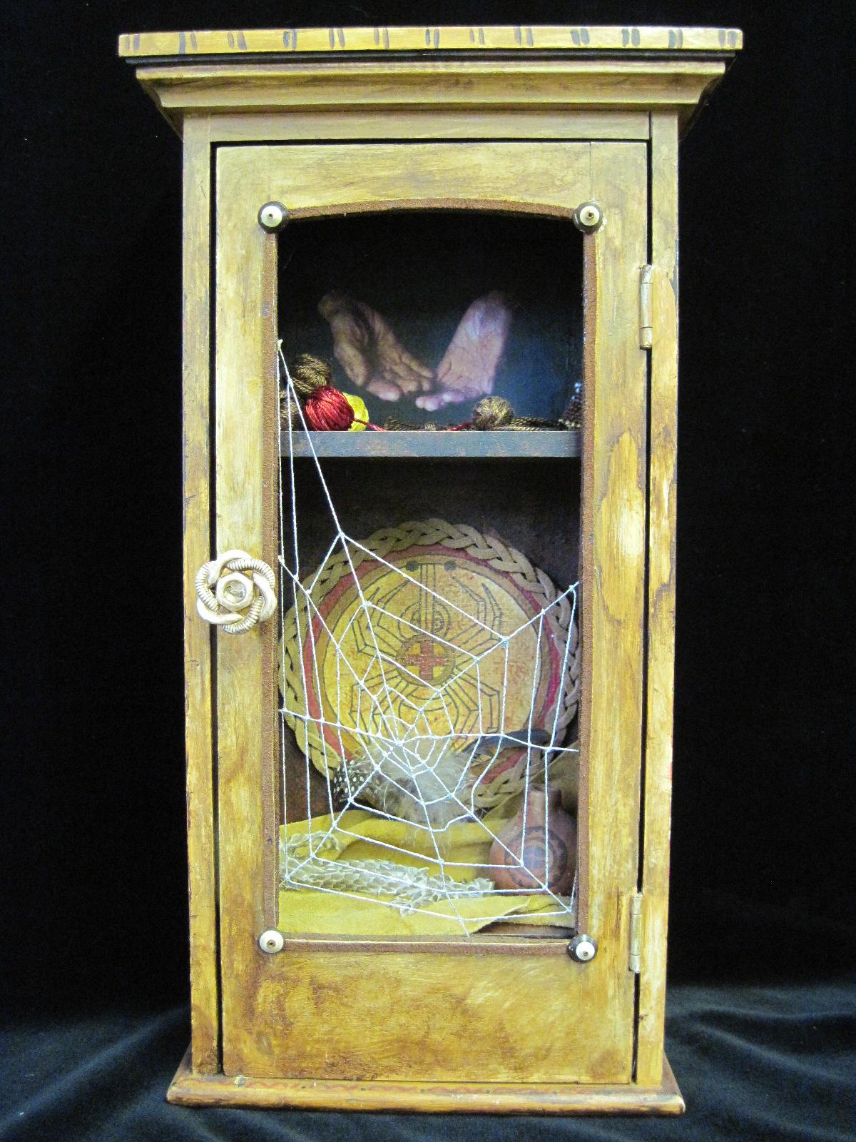 Spider Woman 1 - Playful Art.JPG