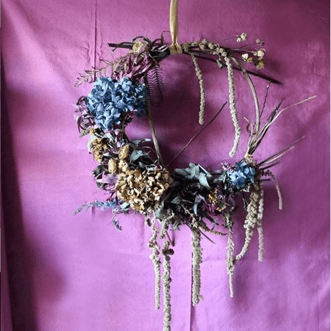 Sprout Floral Art - Brightly coloured dried flowers with a focus on eco floristry.