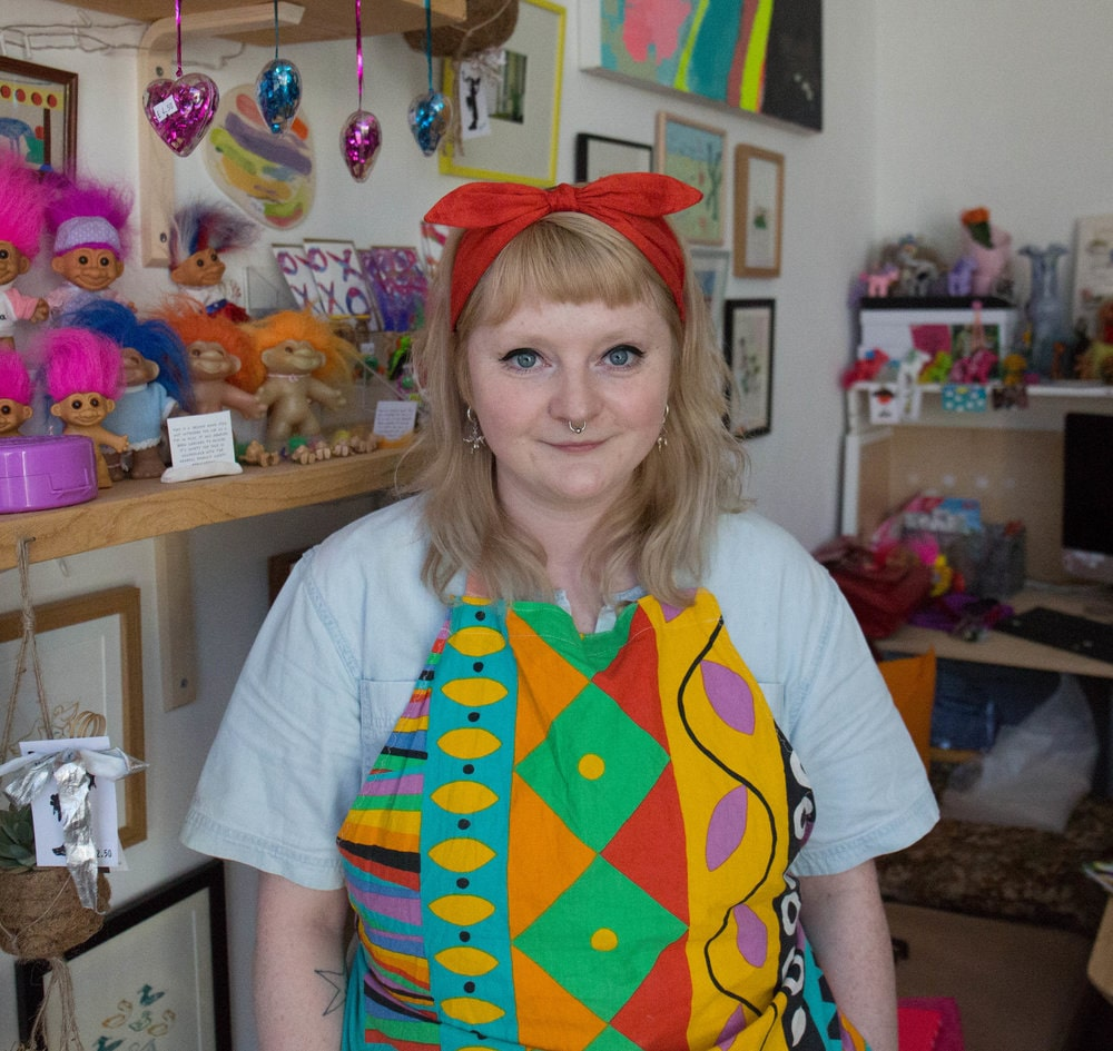 Alice Astbury - pottery nerd - Resident ceramics cool guy. Always at the shop and ready to answer your questions