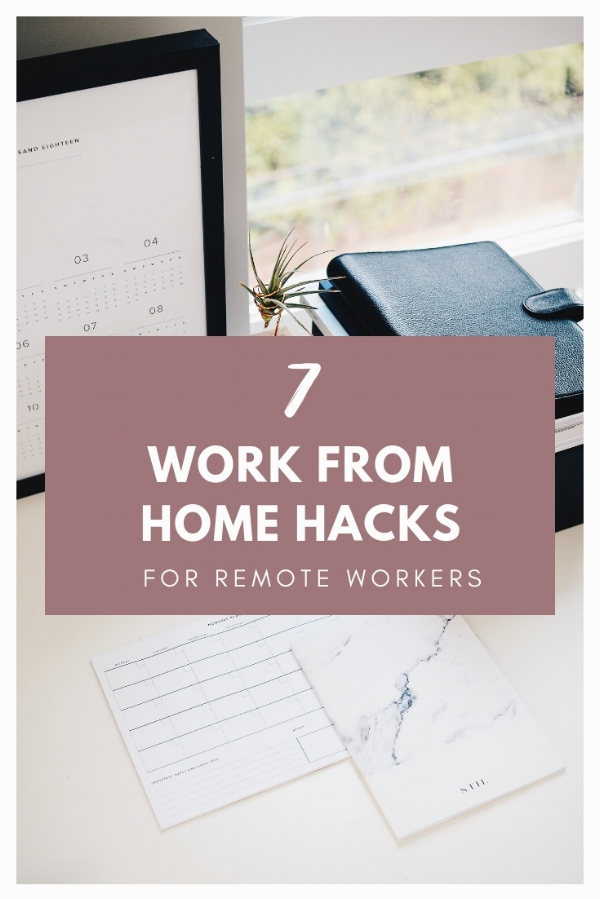 7 Work From Home Hacks for Remote Workers and Virtual Assistants | www.labcreativeco.com