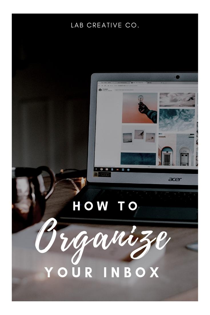 How to Organize your Inbox | www.labcreativeco.com