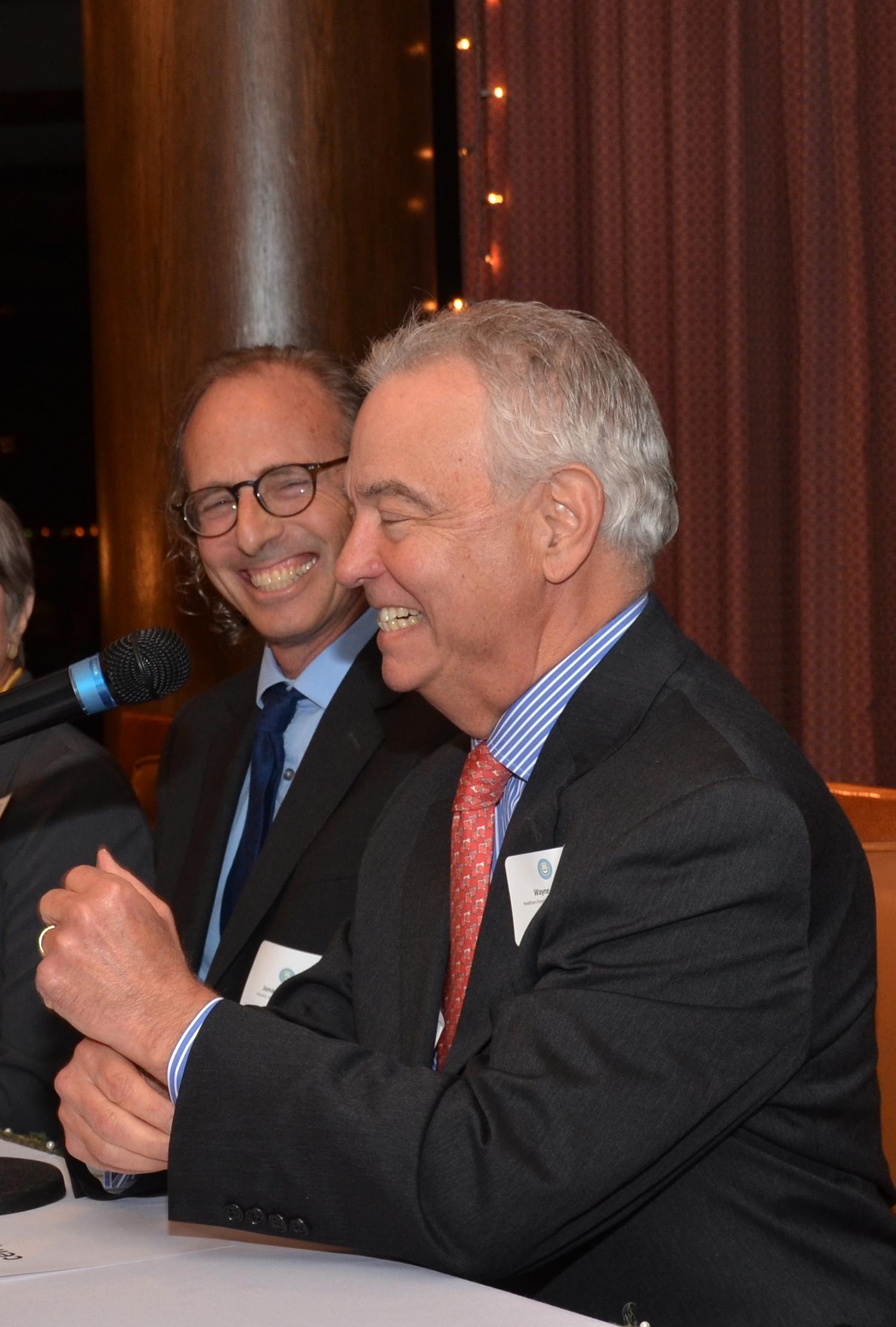 Panelist Jonathan Tilove, Austin American-Statesman, and Wayne Slater, The Dallas Morning News