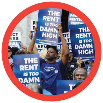 Prop 10 - Affordable Housing Act: A statewide measure that would repeal the Costa-Hawkins Act, and restore the right of local communities to enact or strengthen rent control policies in California.