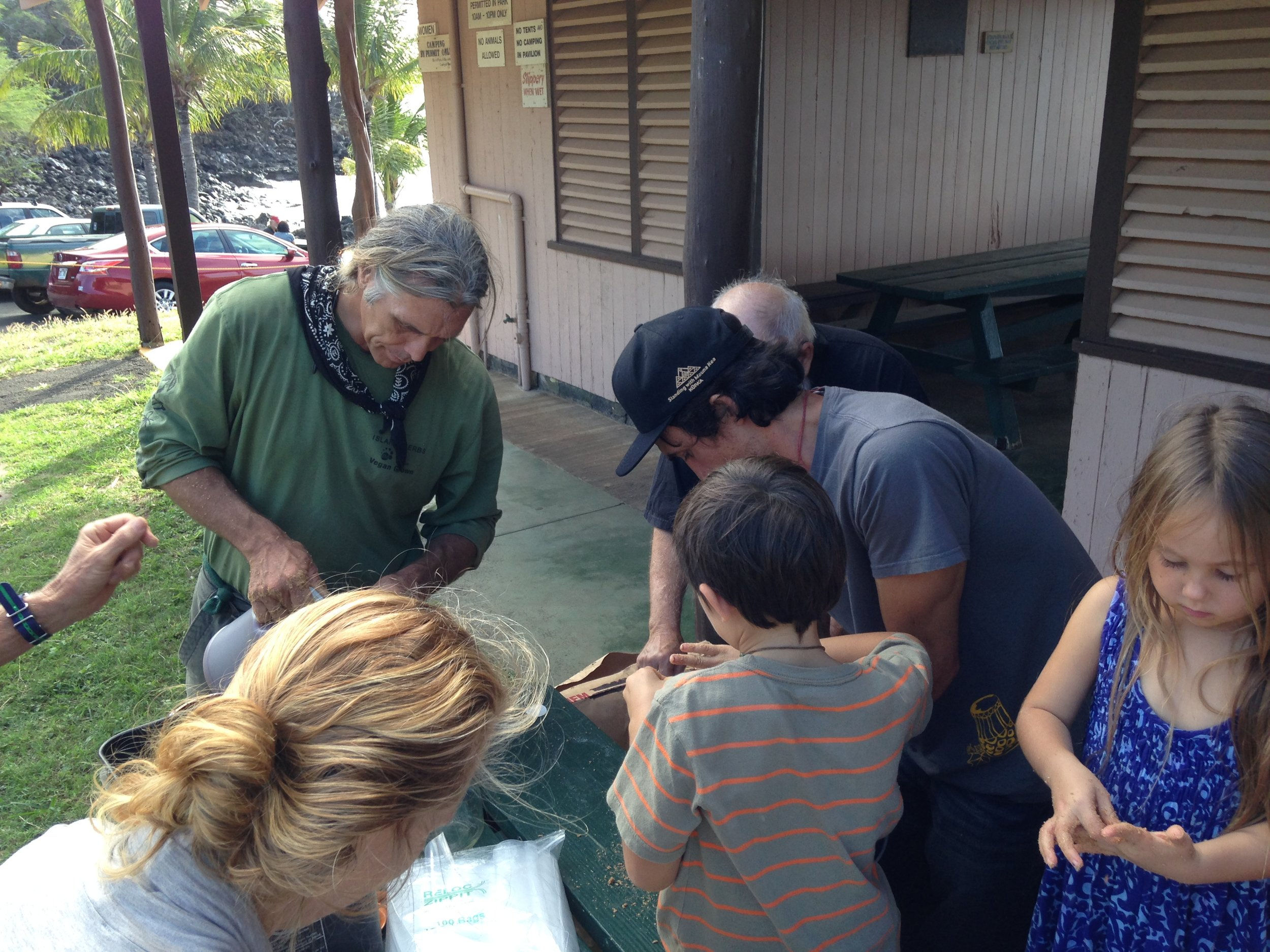 Teaching all ages the finer crafts of gardening and farming in the volcanic rich tropical soils of Hawaii