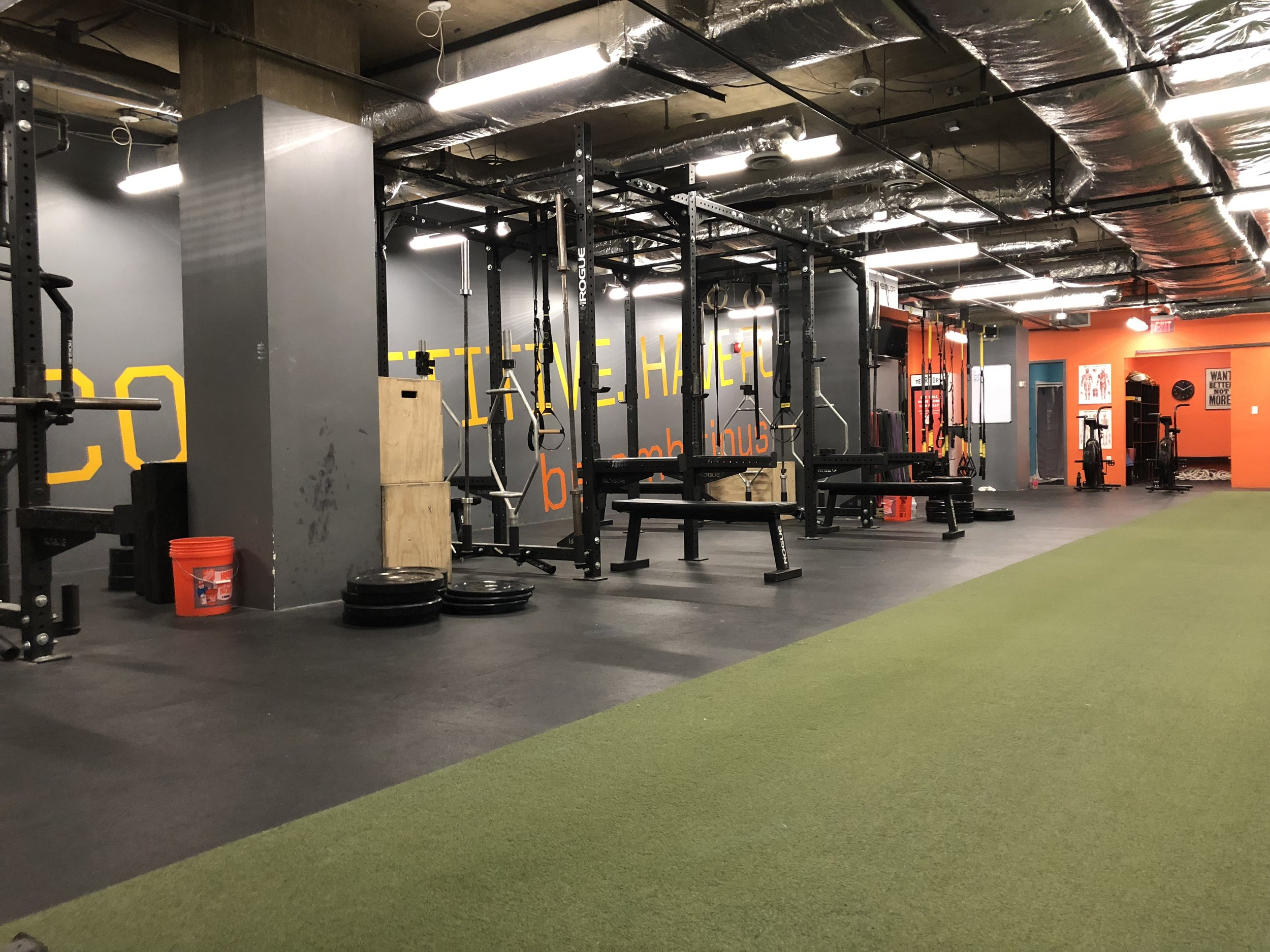 Where it is now. Ambitious Athletics training facility at 2021 K ST NW DC