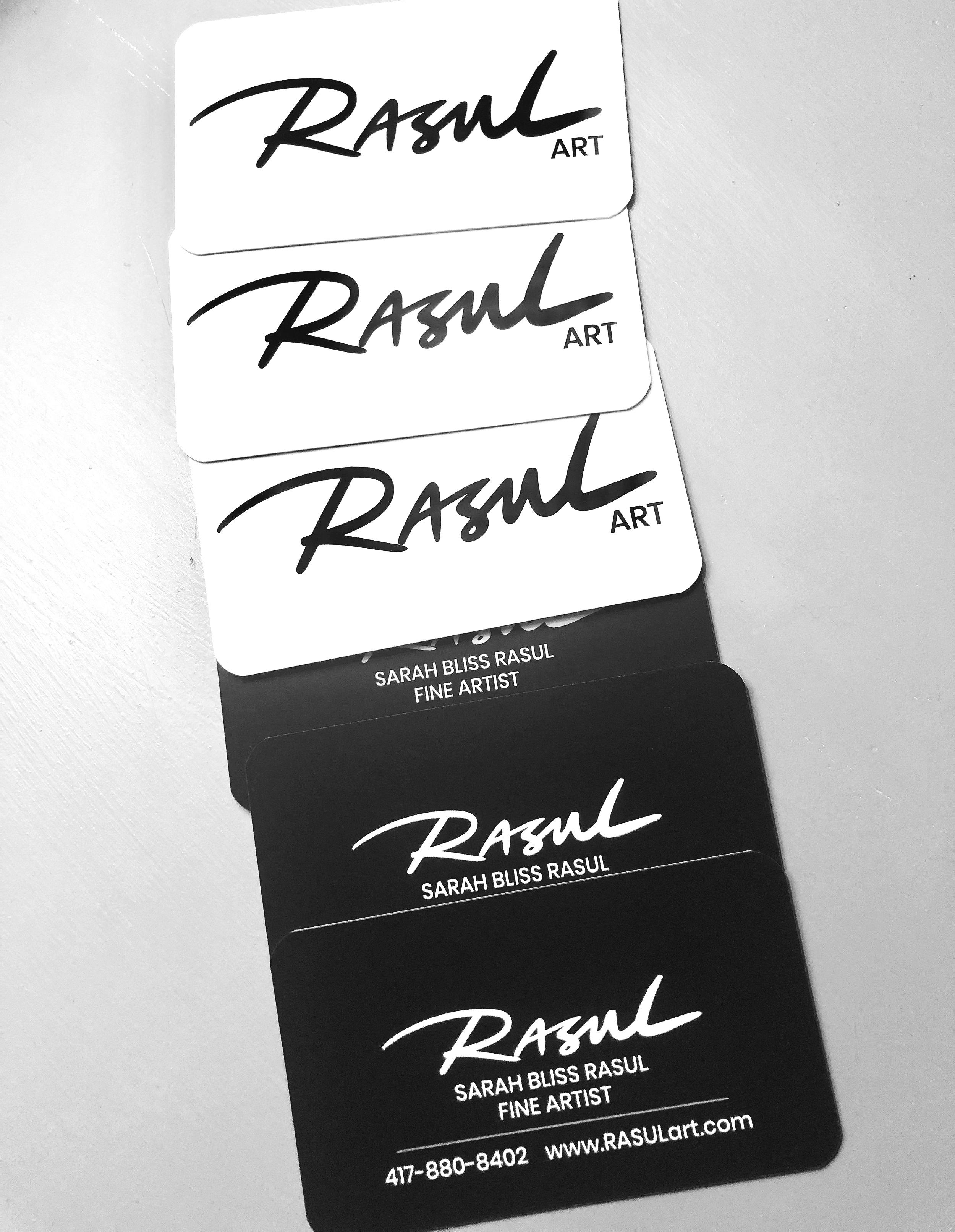 RASULart Business Cards