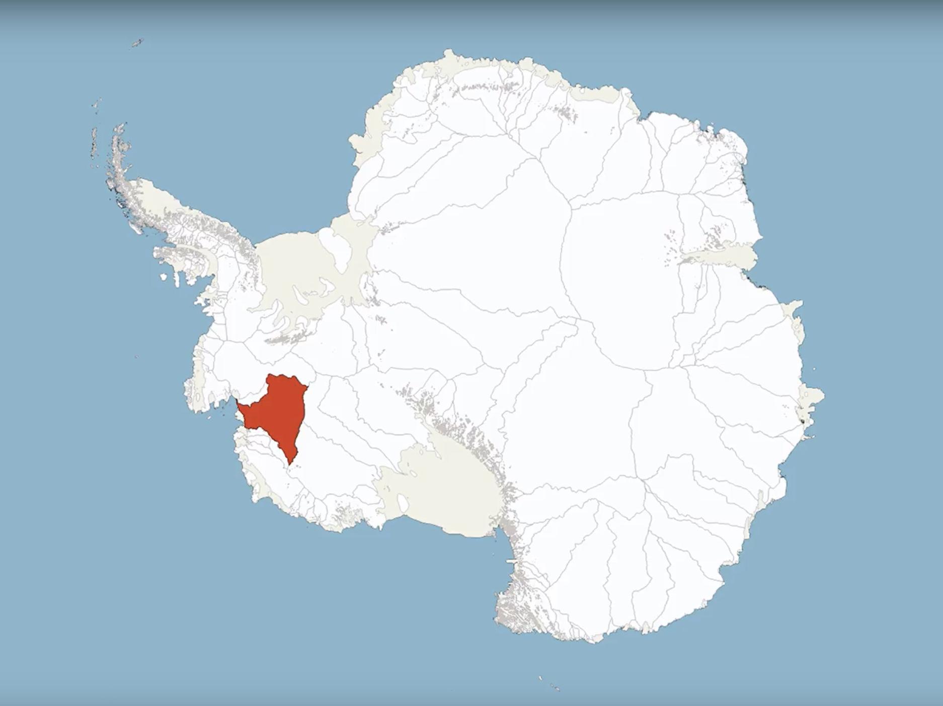 Thwaites Glacier -