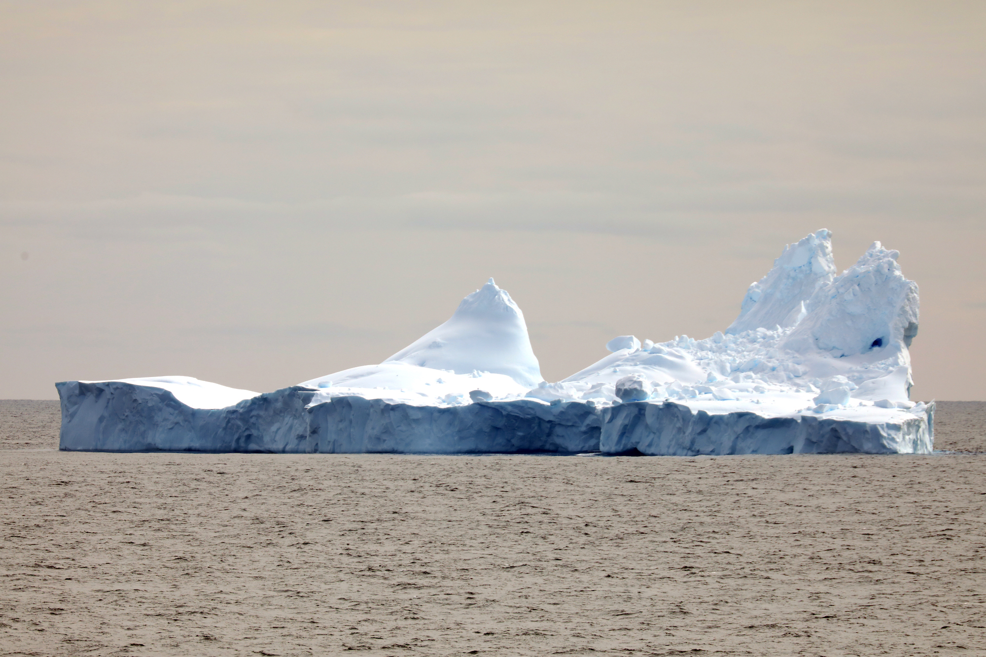 As icebergs age, they melt and crumble to produce amazing sculpture.
