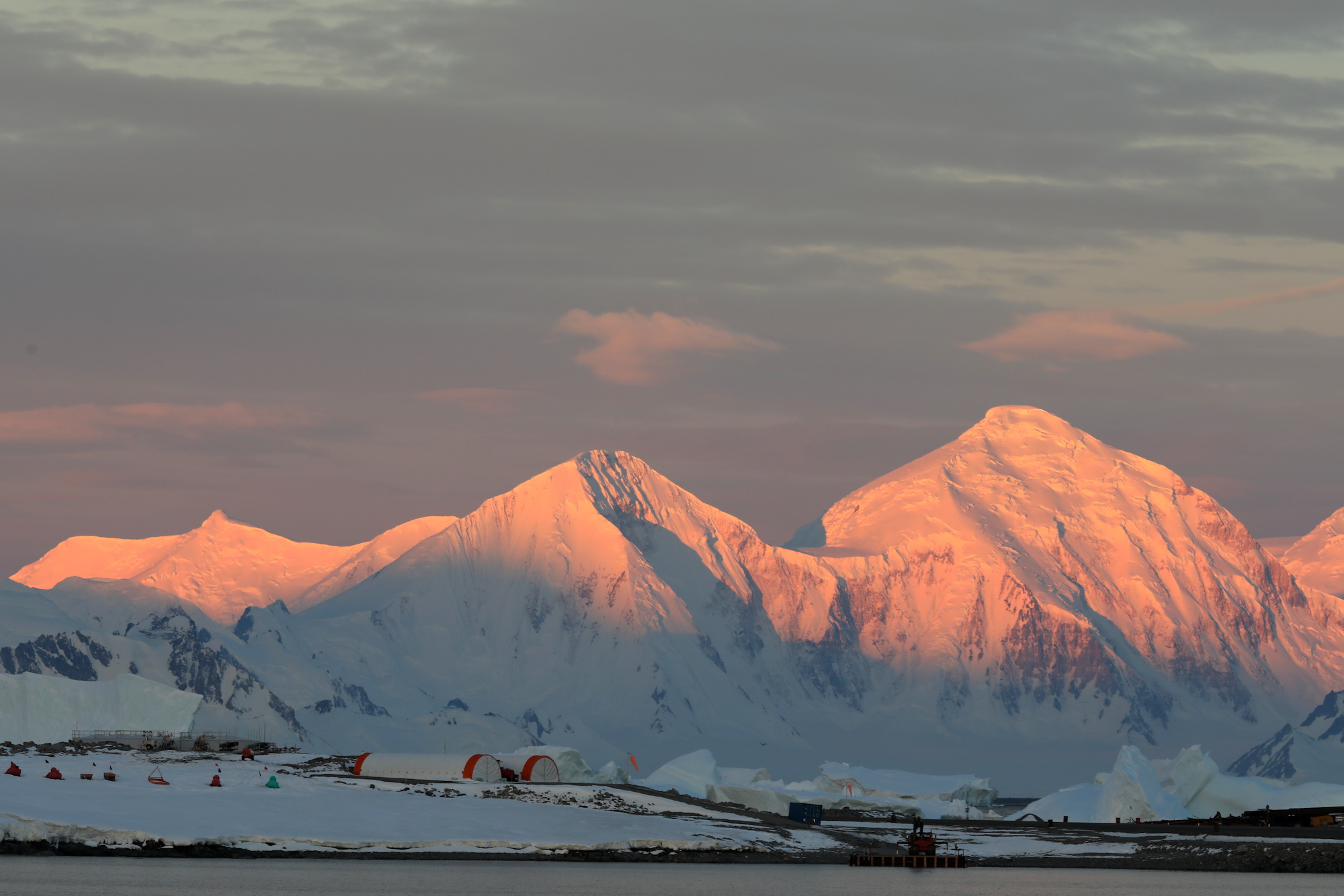 BAS sunset over rothera.JPG