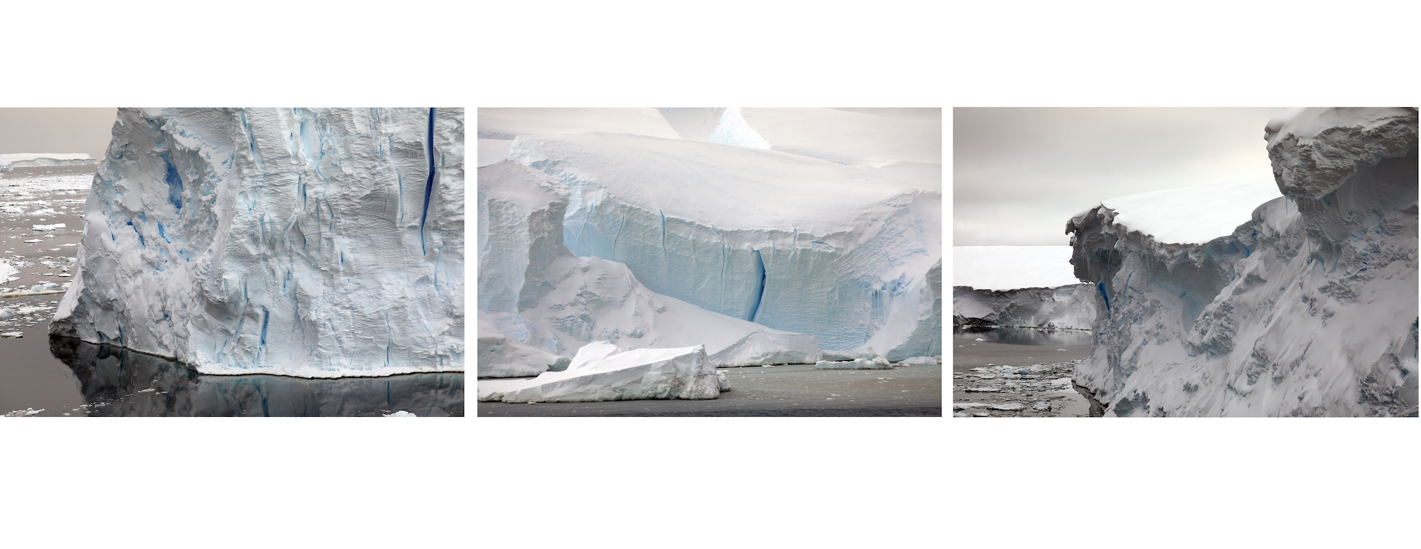 The many faces of Thwaites ice shelf.