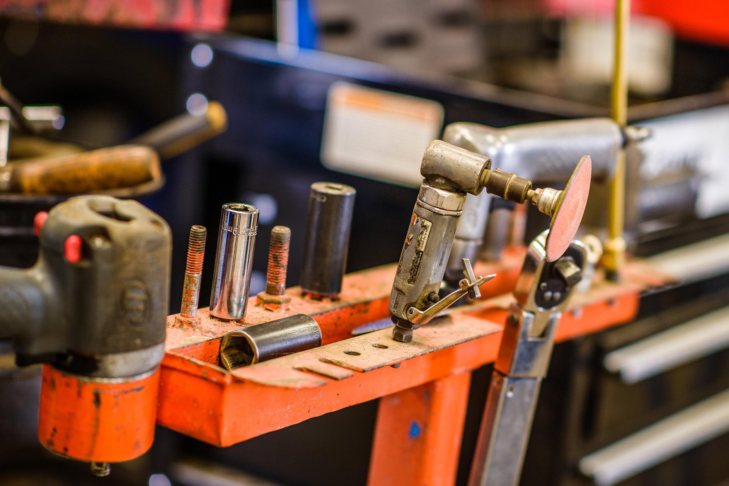 A Mechanic's Tools