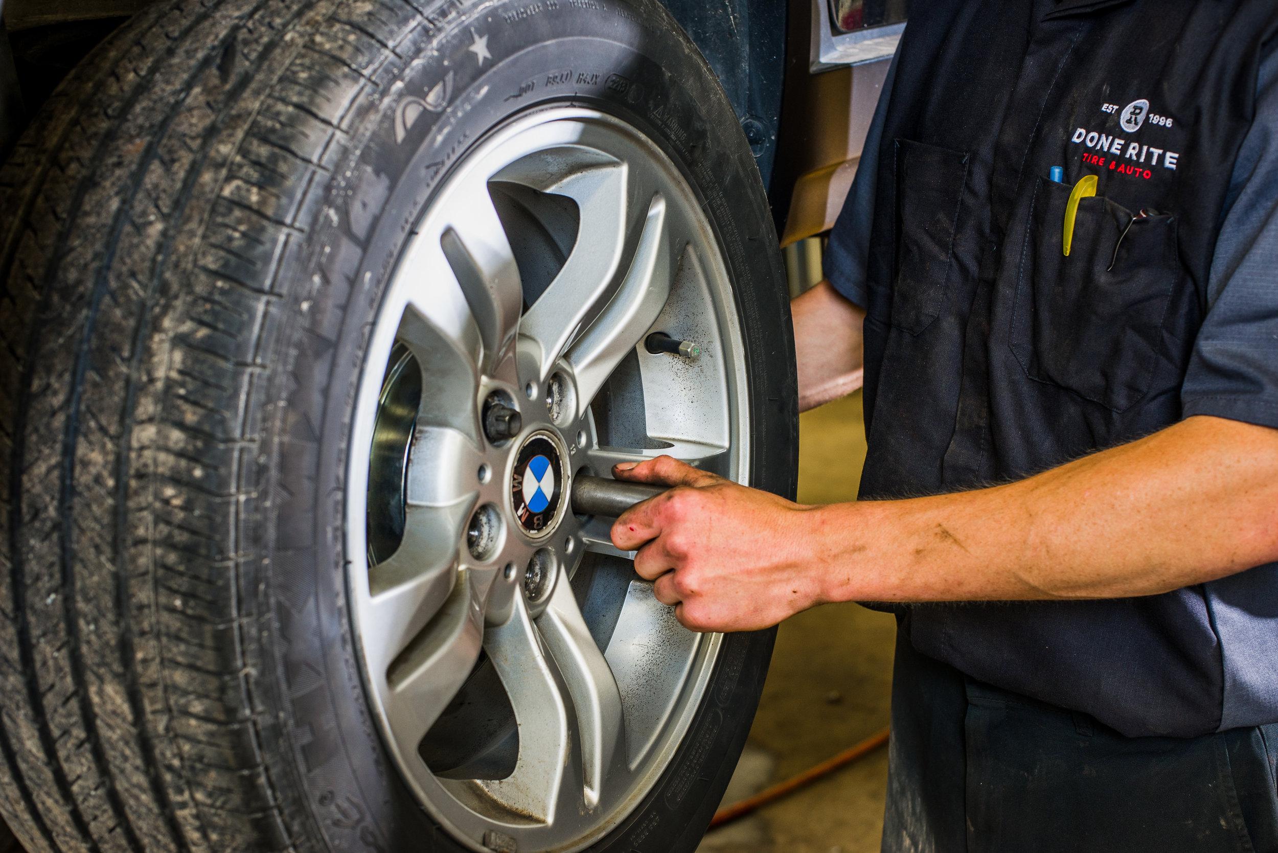 Tire Technician, Done-Rite Tire & Auto