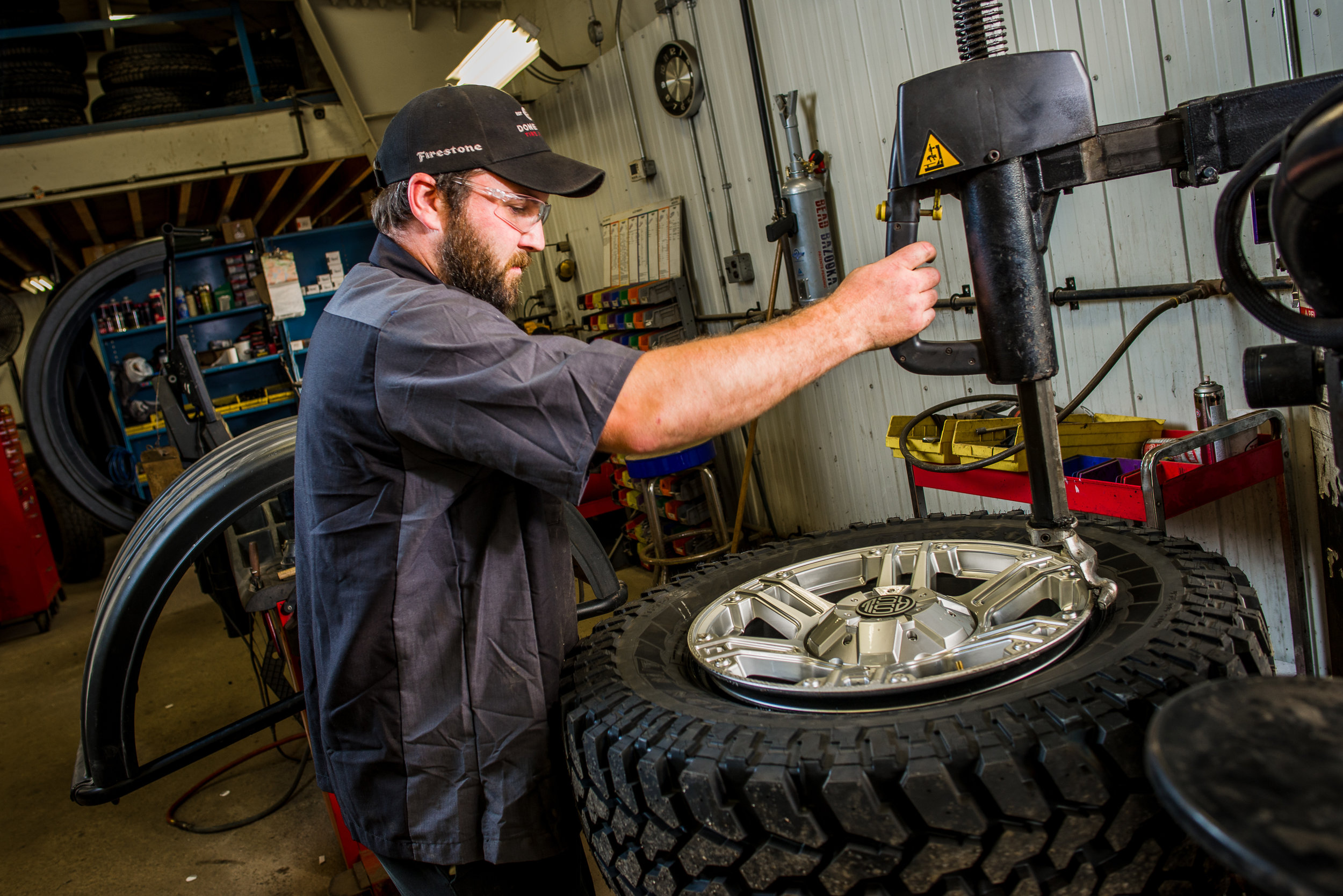 WHEEL BALANCE - Performing a wheel balance will provide a smoother ride, and improve the useful life of your tires.